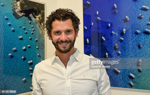 Tommy Clarke at his private view of aerial photographer Tommy Clarke's new exhibition 'Up In The Air' cohosted by Conde Nast Traveller editor Melinda...