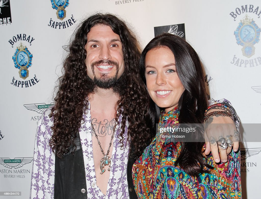 Tommy Clufetos and Casey Clufetos attend the VIP opening reception for 'Dis-Ease', an evening of fine art with Billy Morrison at Mouche Gallery on September 2, 2015 in Beverly Hills, California.