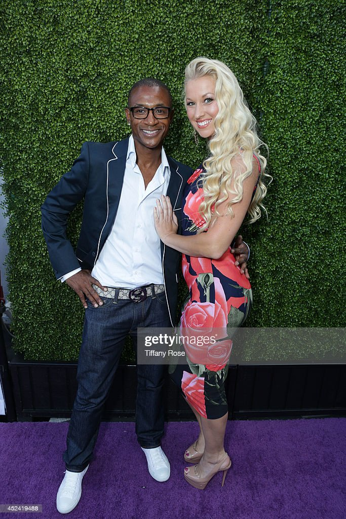<a gi-track='captionPersonalityLinkClicked' href=/galleries/search?phrase=Tommy+Davidson&family=editorial&specificpeople=619191 ng-click='$event.stopPropagation()'>Tommy Davidson</a> and Amanda Moore attend the 16th Annual DesignCare to Benefit The HollyRod Foundation at The Lot Studios on July 19, 2014 in Los Angeles, California.