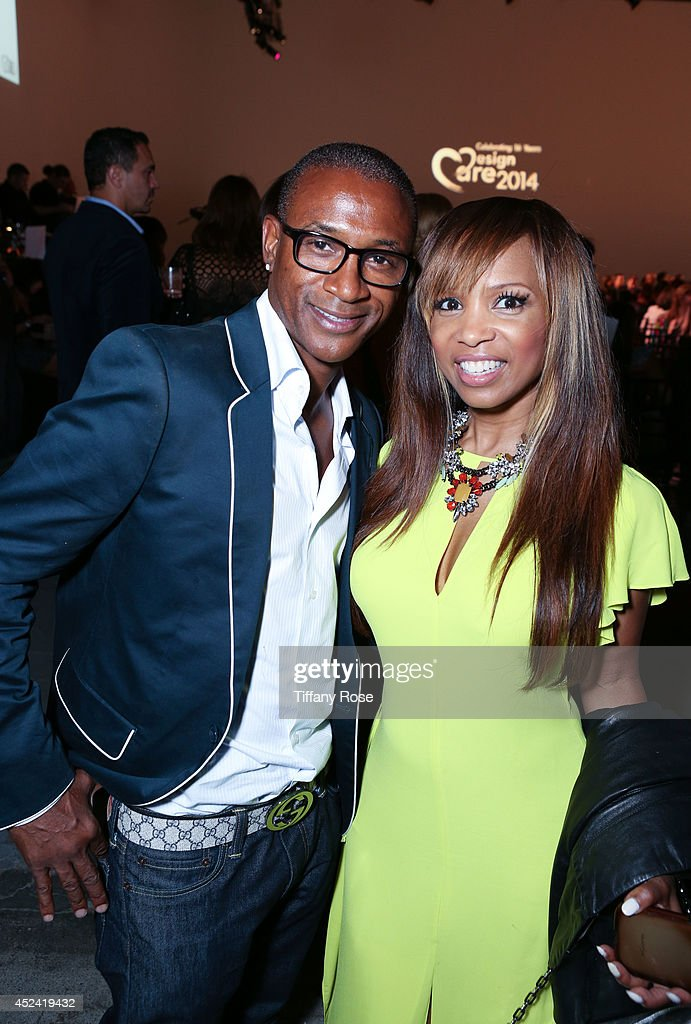 <a gi-track='captionPersonalityLinkClicked' href=/galleries/search?phrase=Tommy+Davidson&family=editorial&specificpeople=619191 ng-click='$event.stopPropagation()'>Tommy Davidson</a> and <a gi-track='captionPersonalityLinkClicked' href=/galleries/search?phrase=Elise+Neal&family=editorial&specificpeople=204780 ng-click='$event.stopPropagation()'>Elise Neal</a> attends the 16th Annual DesignCare to Benefit The HollyRod Foundation at The Lot Studios on July 19, 2014 in Los Angeles, California.