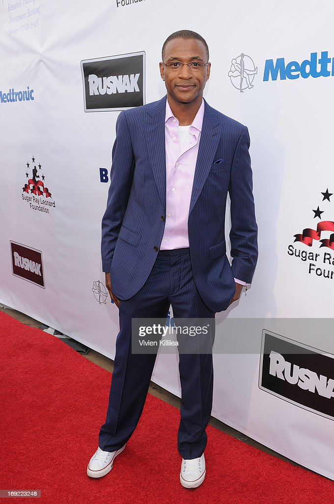 Tommy Davidson attends B. Riley & Co. & The Sugar Ray Leonard Foundation Present The 4th Annual 'Big Fighters, Big Cause' Charity Fight Night To Benefit Juvenile Diabetes at Santa Monica Pier on May 21, 2013 in Santa Monica, California.