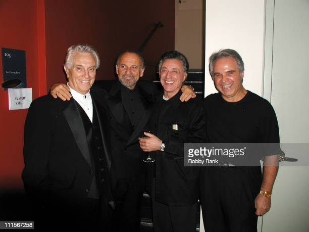 Tommy DeVito Joe Pesci Frankie Valli and Charlie Calello *EXCLUSIVE*