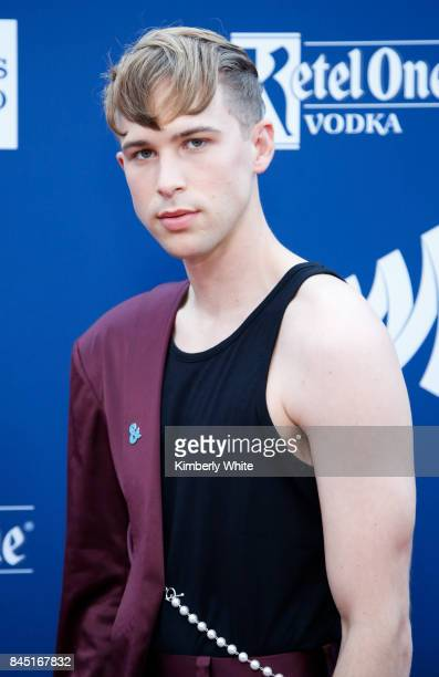 Tommy Dorfman at the 2017 GLAAD Gala at City View at Metreon on September 9 2017 in San Francisco California