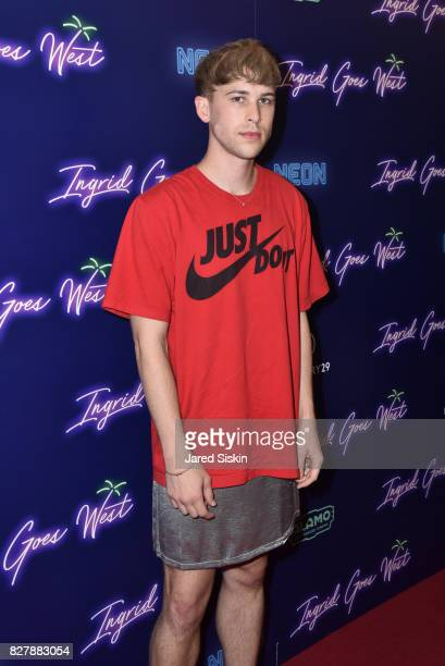 Tommy Dorfman attends Neon hosts the New York premiere of 'Ingrid Goes West' at Alamo Drafthouse Cinema on August 8 2017 in New York City