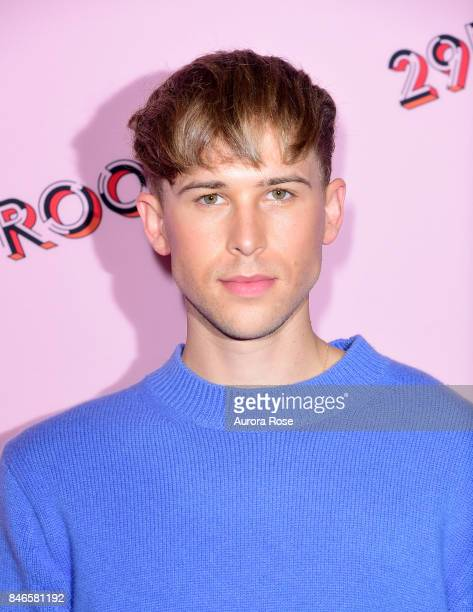 Tommy Dorfman attends Refinery29's '29Rooms Turn It Into Art' at 106 Wythe Ave on September 7 2017 in New York City