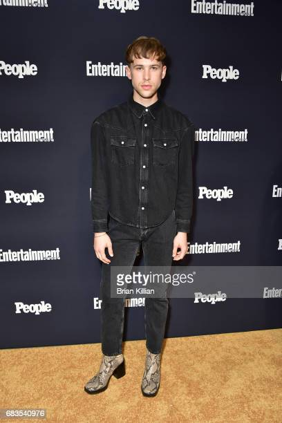 Brandon Flynn attends the Entertainment Weekly People New York Upfronts at 849 6th Ave on May 15 2017 in New York City