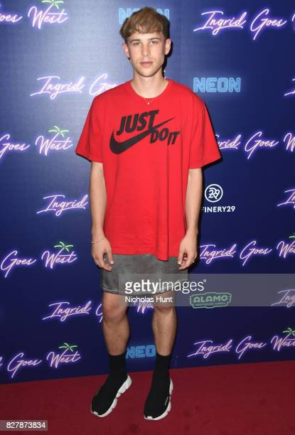 Tommy Dorfman attends the Neon Hosts The New York Premiere of 'Ingrid Goes West' at Alamo Drafthouse Cinema on August 8 2017 in the Brooklyn borough...