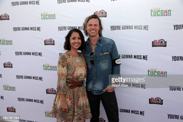 Tommy Fields and Nikki Boyer attend 'You're Gonna Miss Me' premiere sponsored by Visit Tucson on May 13 2017 in Tucson Arizona