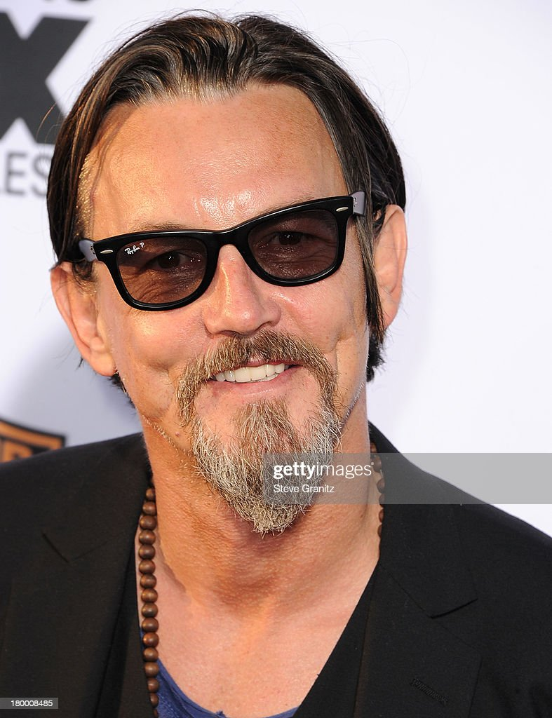 <a gi-track='captionPersonalityLinkClicked' href=/galleries/search?phrase=Tommy+Flanagan+-+Actor&family=editorial&specificpeople=13422249 ng-click='$event.stopPropagation()'>Tommy Flanagan</a> arrives at the FX's 'Sons Of Anarchy' Season 6 Premiere Screening at Dolby Theatre on September 7, 2013 in Hollywood, California.