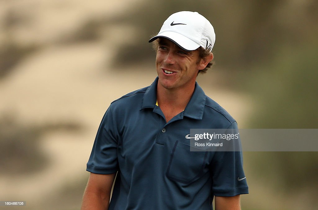 Tommy Fleetwood of England during the second round of the Omega Dubai Desert Classic on February 1, 2013 in Dubai, United Arab Emirates.