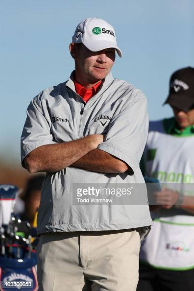 Tommy Gainey plays the tenth hole during the third round of the Humana Challenge in partnership with the Clinton Foundation on the Jack Nicklaus...