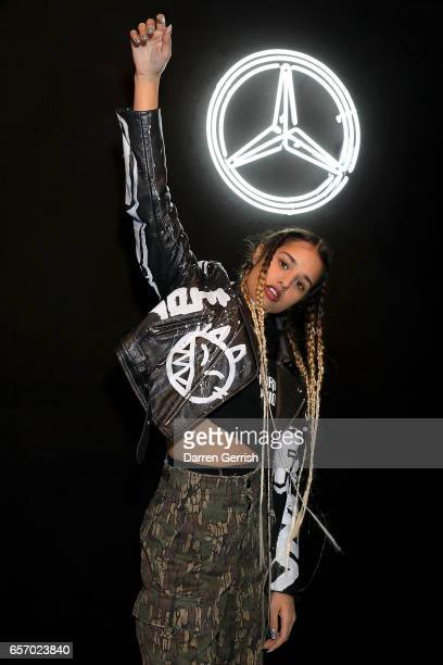 Tommy Genesis attends the MercedesBenz #MBCOLLECTIVE Chapter 1 launch party with M I A on March 23 2017 in London United Kingdom
