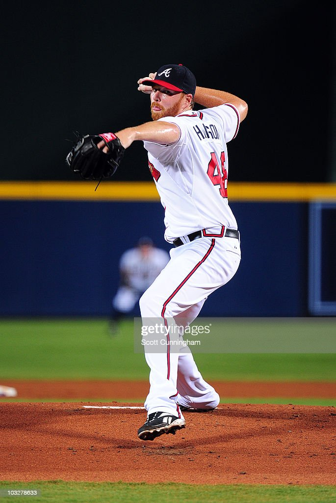 <a gi-track='captionPersonalityLinkClicked' href=/galleries/search?phrase=Tommy+Hanson&family=editorial&specificpeople=3358060 ng-click='$event.stopPropagation()'>Tommy Hanson</a> #48 of the Atlanta Braves pitches against the San Francisco Giants at Turner Field on August 6, 2010 in Atlanta, Georgia. The Giants defeated the Braves 3-2.