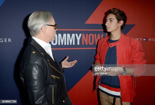 Tommy Hilfiger and Andres Zurita at The Roundhouse on September 19 2017 in London England