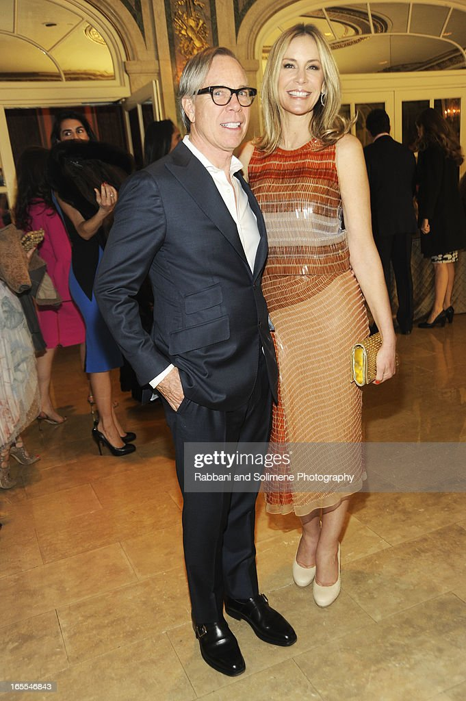 Tommy Hilfiger and Dee Hilfiger attend the 2013 Henry Street Settlement Spring Gala Dinner Dance at The Plaza Hotel on April 4, 2013 in New York City.