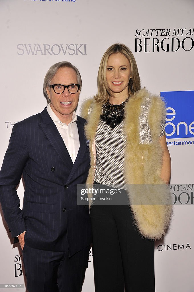 Tommy Hilfiger and Dee Hilfiger attend the Cinema Society with Swarovski & Grey Goose premiere of eOne Entertainment's 'Scatter My Ashes at Bergdorf's' at Florence Gould Hall on April 29, 2013 in New York City.