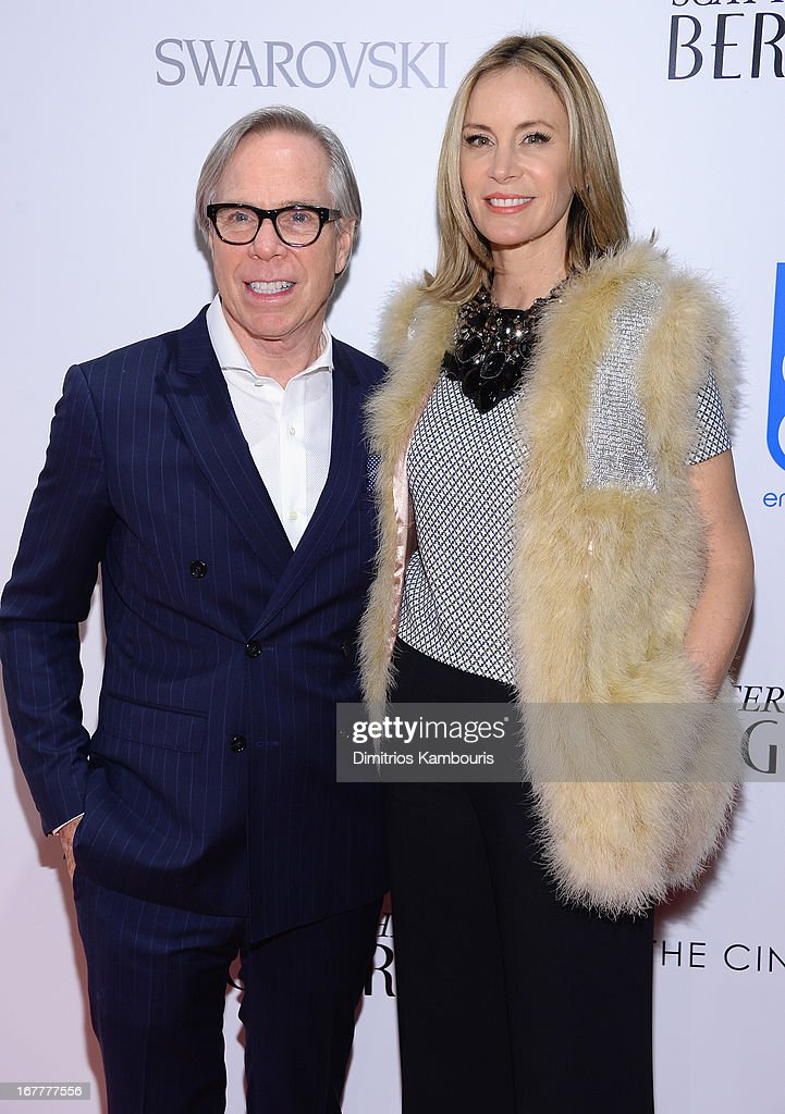 <a gi-track='captionPersonalityLinkClicked' href=/galleries/search?phrase=Tommy+Hilfiger+-+Fashion+Designer&family=editorial&specificpeople=4442212 ng-click='$event.stopPropagation()'>Tommy Hilfiger</a> and Dee Hilfiger attend the Cinema Society with Swarovski & Grey Goose premiere of eOne Entertainment's 'Scatter My Ashes at Bergdorf's' at Florence Gould Hall on April 29, 2013 in New York City.
