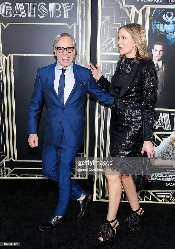 Tommy Hilfiger and Dee Hilfiger attend 'The Great Gatsby' world premiere at Avery Fisher Hall at Lincoln Center for the Performing Arts on May 1, 2013 in New York City.