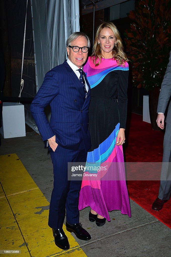 Tommy Hilfiger and Dee Occlepo attend The Ninth Annual CFDA/Vogue Fashion Fund Awards at 548 West 22nd Street on November 13, 2012 in New York City.