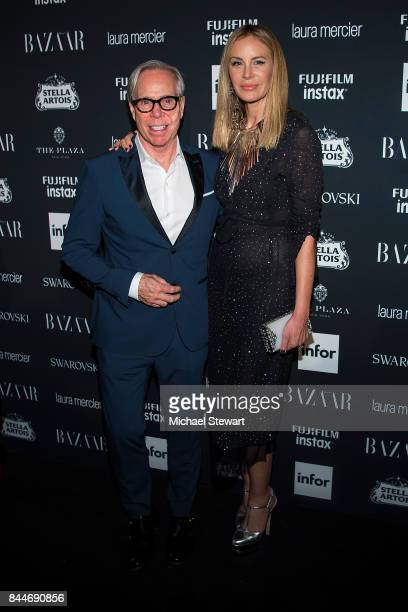 Tommy Hilfiger and Dee Ocleppo attend 2017 Harper's Bazaar Icons at The Plaza Hotel on September 8 2017 in New York City