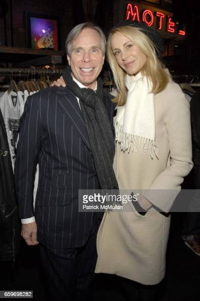 Tommy Hilfiger and Dee Ocleppo attend Hilfiger Denim Marky Ramone Paper Magazine Invite you to Celebrate The Launch of MARKY RAMONE'S ROCK SCENE...