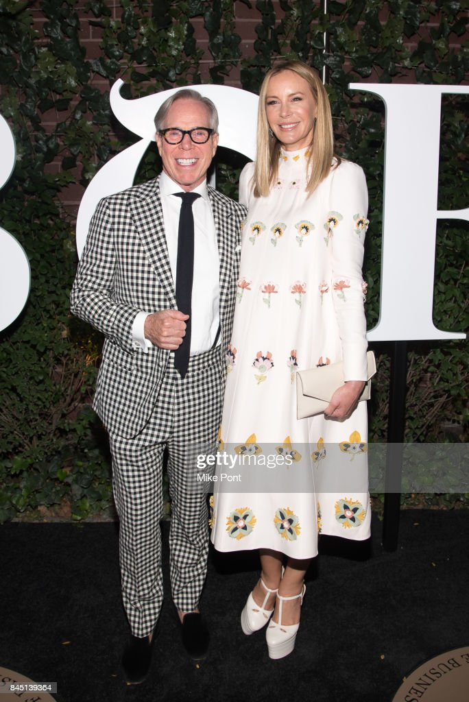 Tommy Hilfiger and Dee Ocleppo attend the 2017 BoF 500 Gala at Public Hotel on September 9, 2017 in New York City.