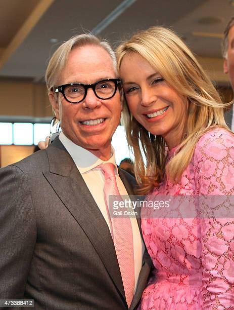 Tommy Hilfiger and Dee Ocleppo attend the Breast Cancer Research Foundation's Boston Hot Pink Party 2015 at the Seaport World Trade Center on May 14...
