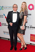 Tommy Hilfiger and Dee Ocleppo attend the Elton John AIDS Foundation's 13th Annual An Enduring Vision Benefit at Cipriani Wall Street on October 28...