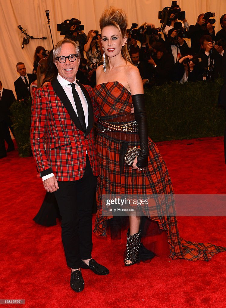 Tommy Hilfiger and Dee Ocleppo attends the Costume Institute Gala for the 'PUNK: Chaos to Couture' exhibition at the Metropolitan Museum of Art on May 6, 2013 in New York City.