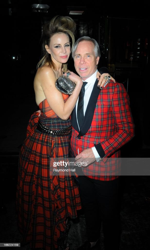 Tommy Hilfiger and Dee Ocleppo attends the 'PUNK: Chaos To Couture' Costume Institute Gala after party at The Standard hotelon May 6, 2013 in New York City.