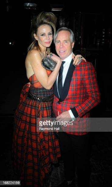 Tommy Hilfiger and Dee Ocleppo attends the 'PUNK Chaos To Couture' Costume Institute Gala after party at The Standard hotelon May 6 2013 in New York...