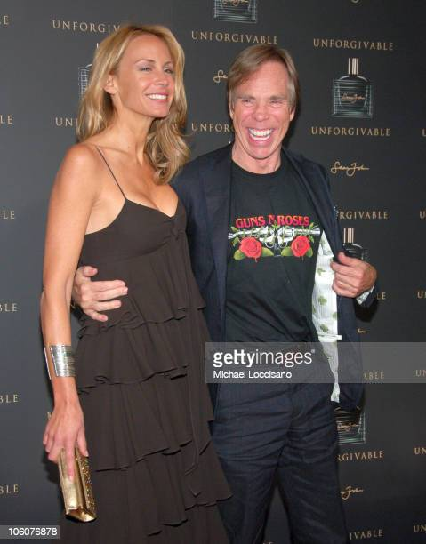 Tommy Hilfiger and Dee Ocleppo during Diddy's 'Unforgivable' CFDA After Party at Pinkk Elephant in New York City New York United States