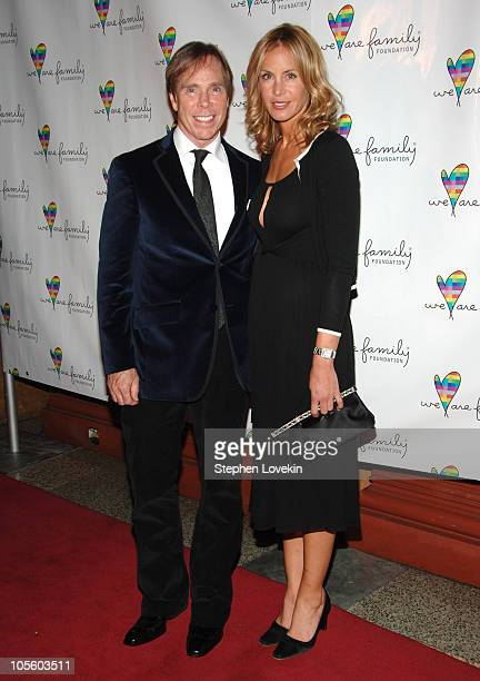 Tommy Hilfiger and Dee Ocleppo during 'We Are Family Foundation' to Honor Elton John Quincy Jones Tommy Hilfiger at Hammerstein Ballroom in New York...