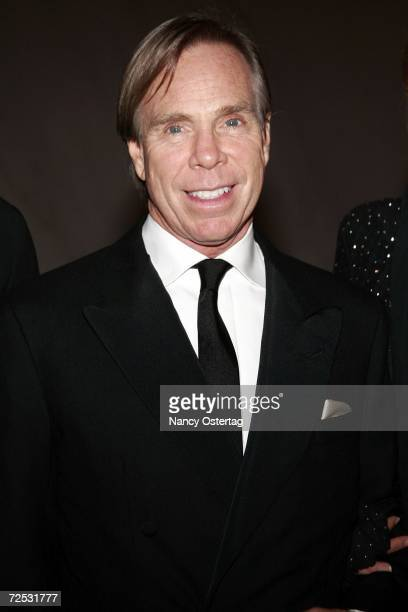 Tommy Hilfiger arrives arrives at the National Dream Gala to celebrate the Martin Luther King Jr Memorial groundbreaking on November 13 2006 in...