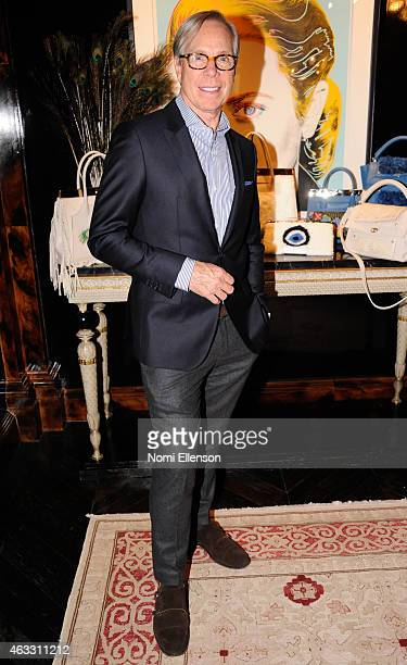 Tommy Hilfiger attends Dee Ocleppo Presentation for MercedesBenz Fashion Week Fall 2015 on February 12 2015 in New York City