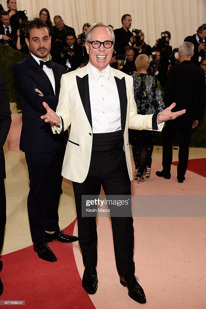 Tommy Hilfiger attends 'Manus x Machina: Fashion In An Age Of Technology' Costume Institute Gala at Metropolitan Museum of Art on May 2, 2016 in New York City.