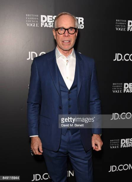 Tommy Hilfiger attends the BFC Vogue Fashion Fund and JDCOM cocktail party hosted by Caroline Rush and Xia Ding at the Mandrake Hotel on September 18...