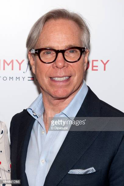 Tommy Hilfiger attends the To Tommy From Zooey Collection launch at Macy's Herald Square on April 14 2014 in New York City