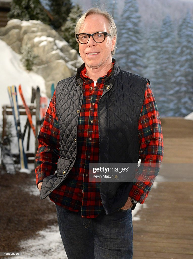 Tommy Hilfiger before the Tommy Hilfiger Presents Fall 2014 Women's Collection on February 10 2014 in New York United States