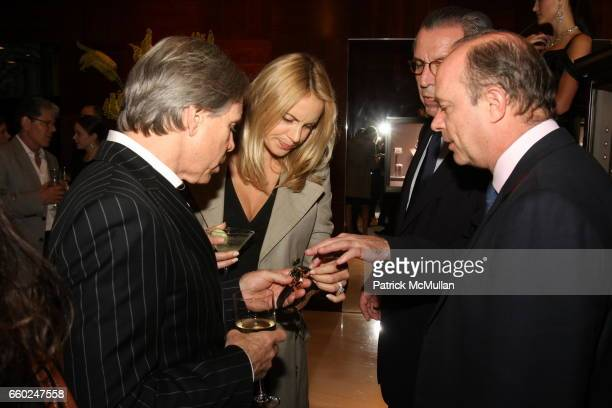 Tommy Hilfiger Dee Ocleppo Henri Barguirdjian and Eduard van der Geest attend The Private Unveiling of GRAFF Time Watch Collection 1 at Graff on June...
