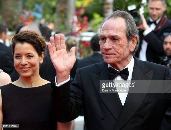 Tommy Lee Jones and guest attends 'The Homesman' premiere at the 67th Annual Cannes Film Festival on May 18 2014 in Cannes France
