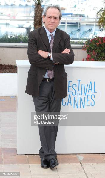 Tommy Lee Jones attends 'The Homesman' photocall at the 67th Annual Cannes Film Festival on May 18 2014 in Cannes France