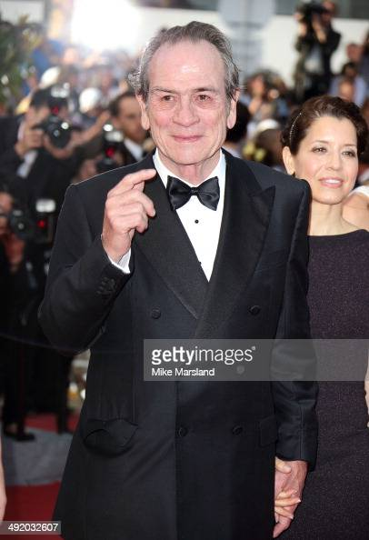 Tommy Lee Jones attends 'The Homesman' Premiere at the 67th Annual Cannes Film Festival on May 18 2014 in Cannes France