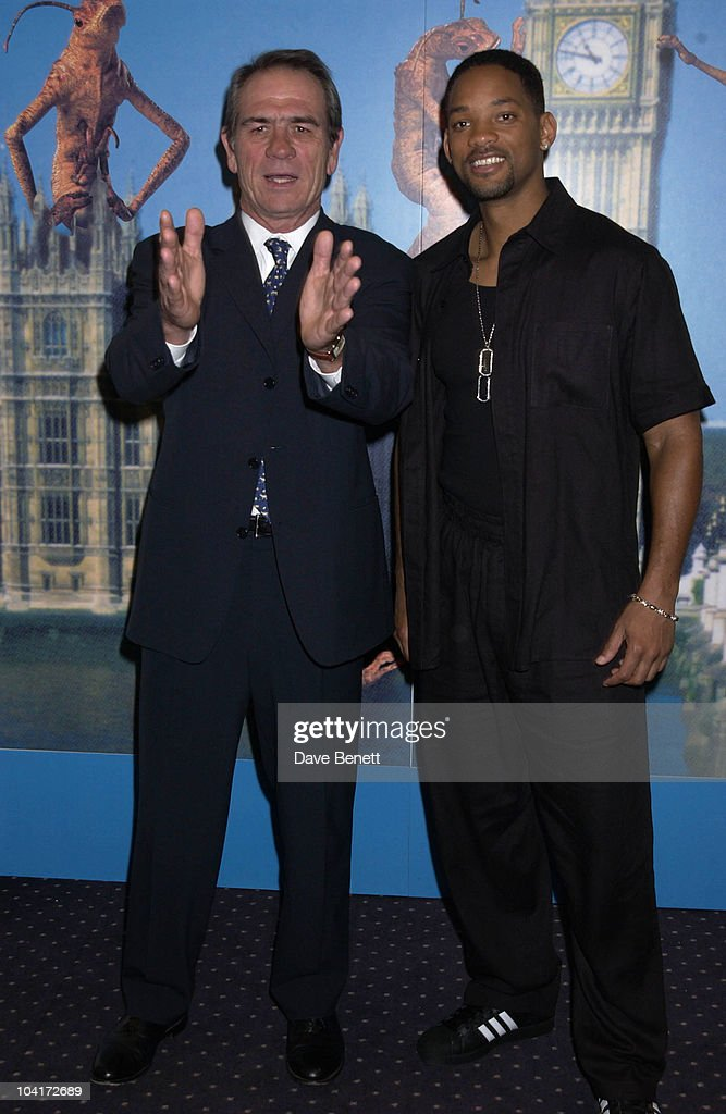 Tommy Lee Jones & Will Smith, 'Men In Black Ii' Movie Photocall At Bafta In Piccadilly, London.