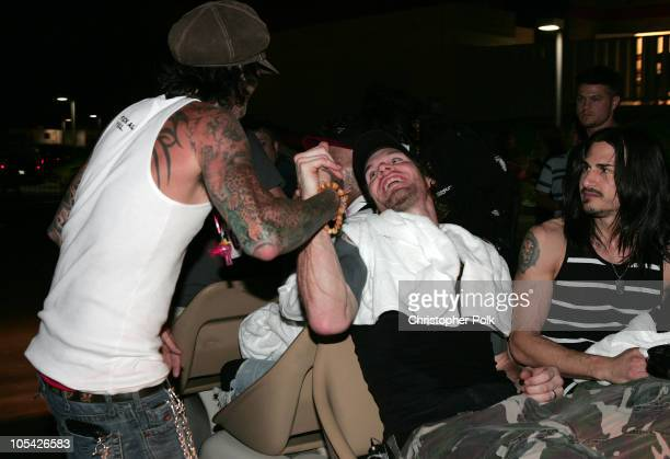 Tommy Lee of Motley Crue and Tim Commerford of Audioslave