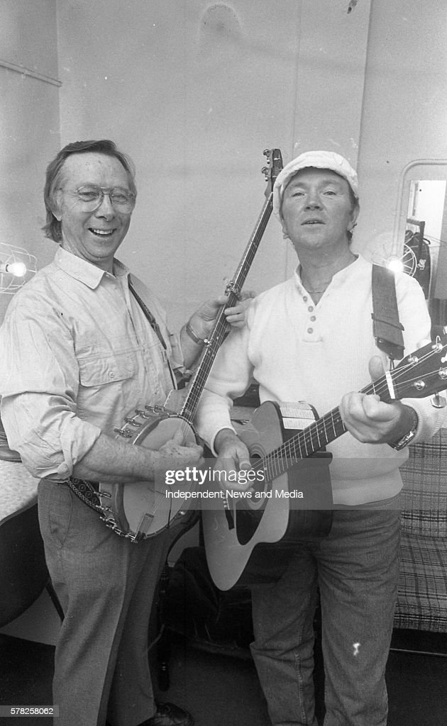 Tommy Makem and Liam Clancy in Concert at the Olympia Theatre in Dublin