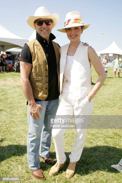 Tommy Mattola and Thalia attend DONNA KARAN ARIEL FOXMAN and INSTYLE along with KELLY RIPA and BLAKE LIVELY present SUPER SATURDAY 12 at Nova's Ark...