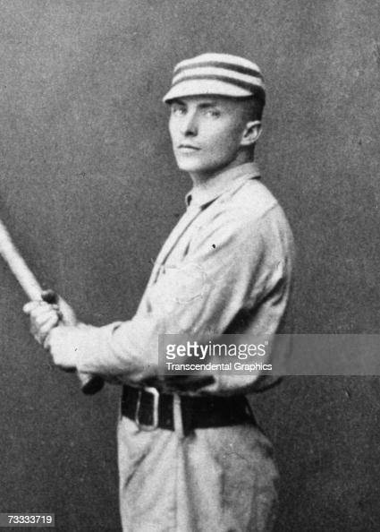 Tommy McCarthy of the St Louis Browns poses for a portrait in 1888