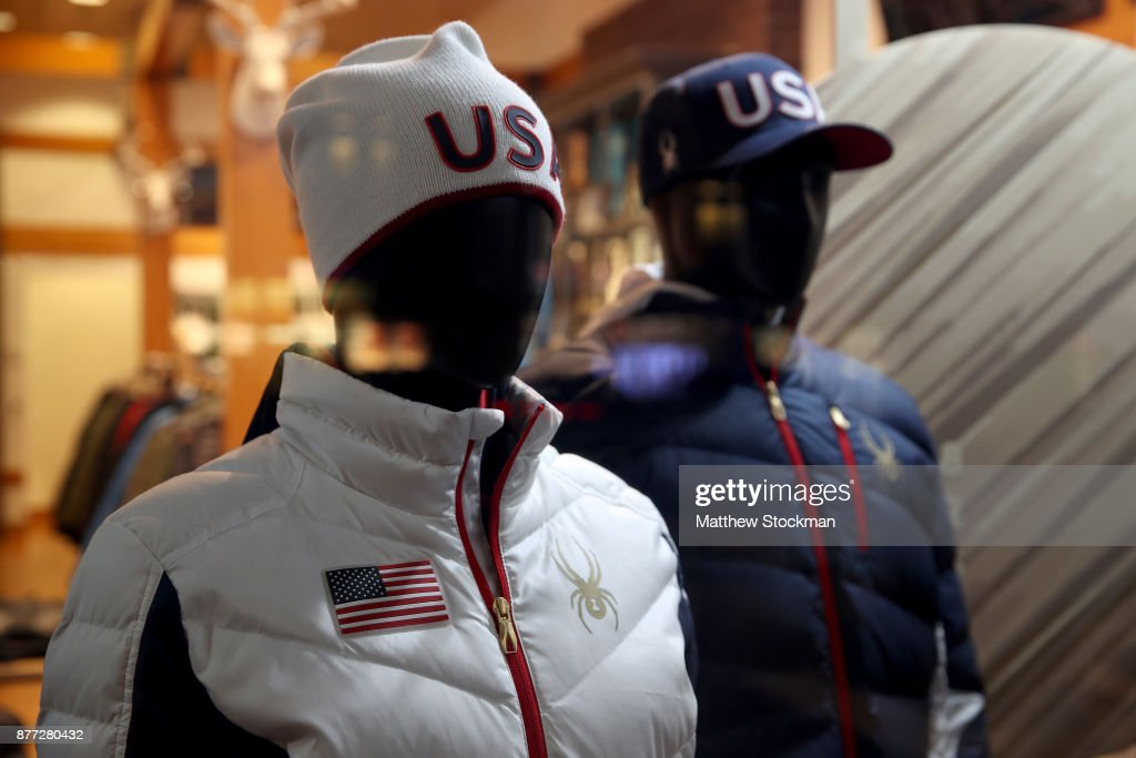 US Alpine 2018 Team Gear at Spyder Store in Boulder