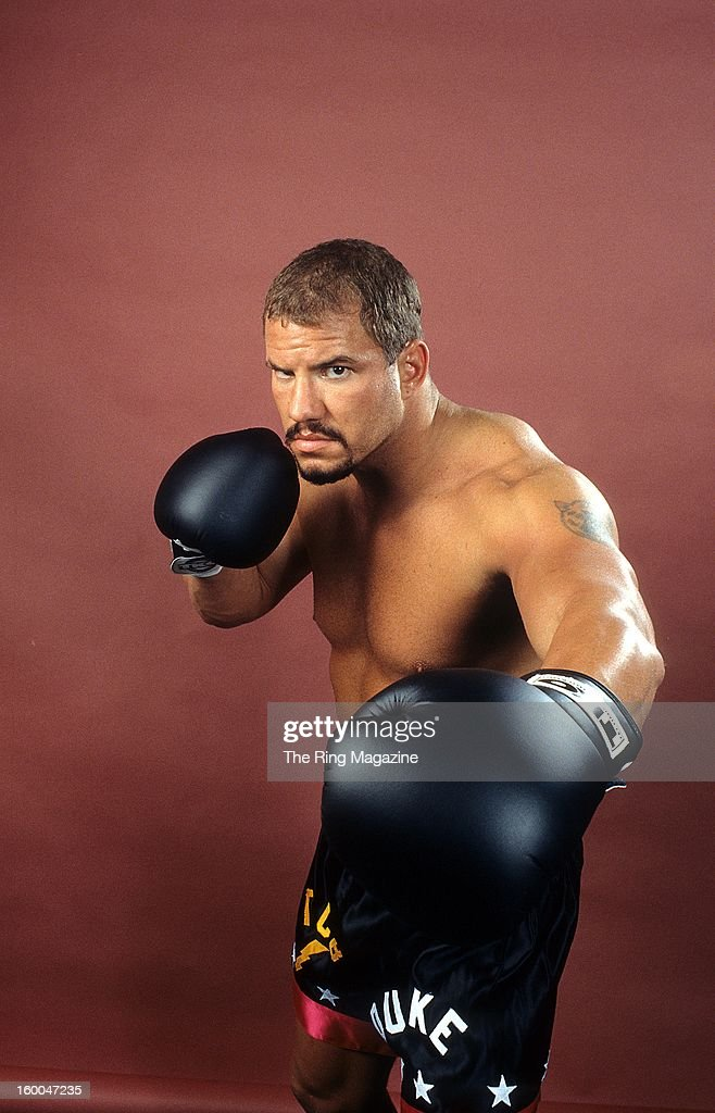 Tommy Morrison Getty Images